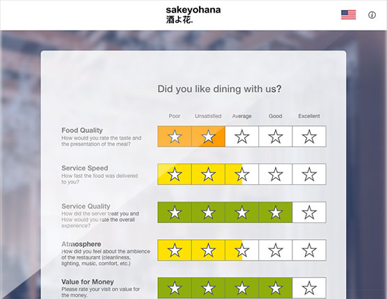 guest feedback survey b1menu digital menu